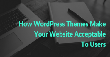 Role of WordPress Themes In Making Website Acceptable To Users