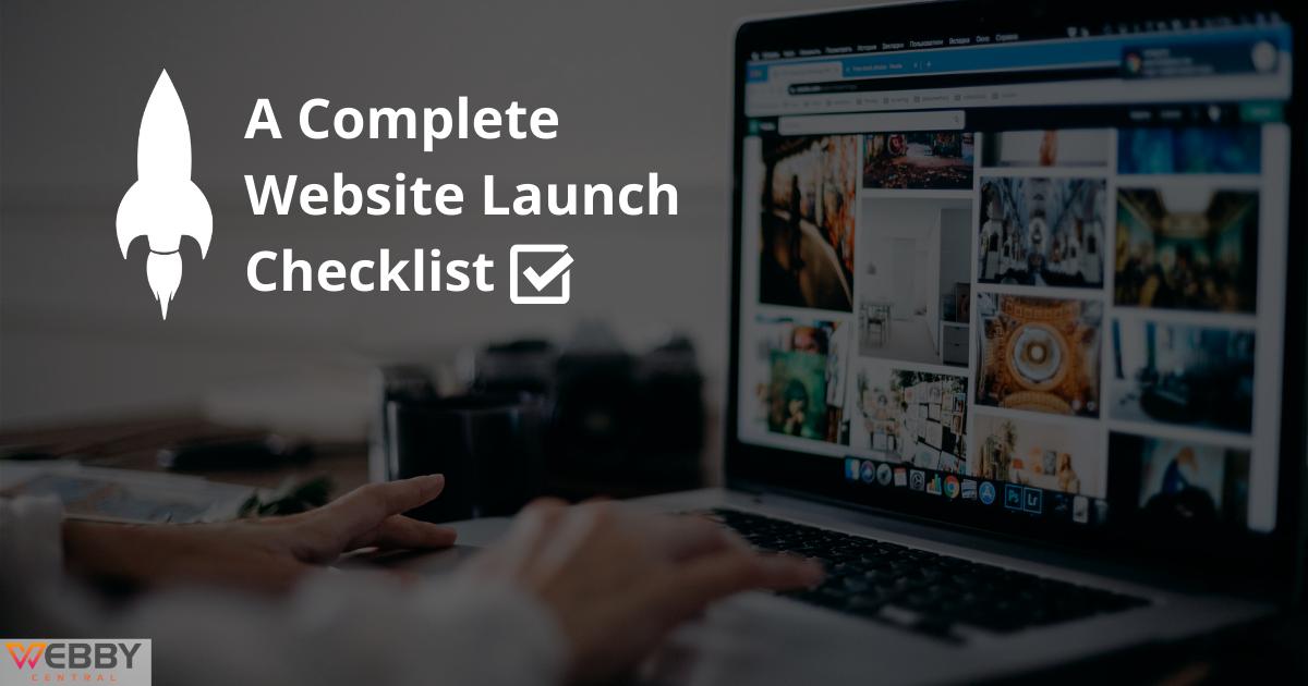 Complete Website Launch Checklist