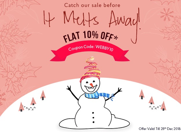 Merry Christmas Offer - WebbyCentral